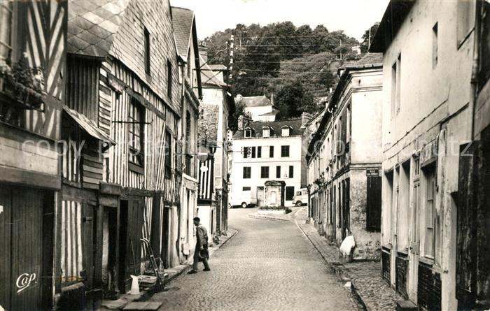 AK / Ansichtskarte Honfleur Rue du Puits Vieux Puits Honfleur