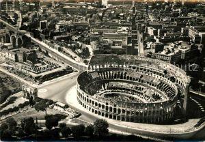 AK / Ansichtskarte Roma_Rom Zona del Colosseo dall aereo Roma_Rom