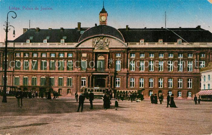 AK / Ansichtskarte Liege_Luettich Palais de Justice Place Saint Lambert Liege Luettich