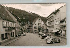 AK / Ansichtskarte Hornberg_Schwarzwald Hauptstrasse Hornberg Schwarzwald