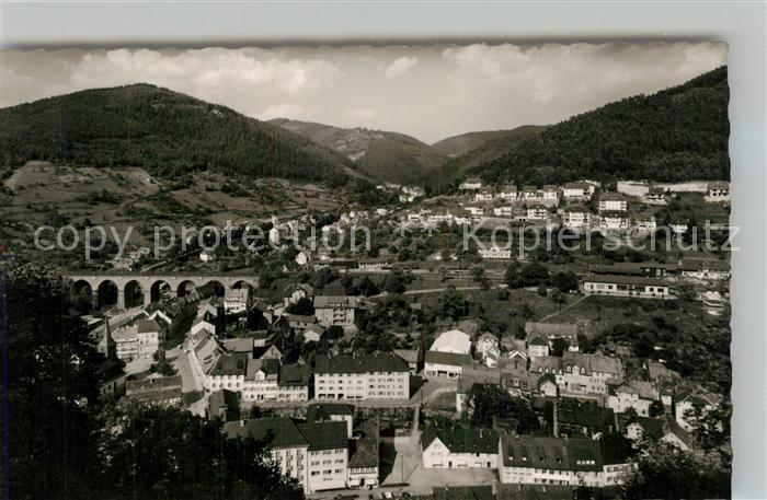 AK / Ansichtskarte Hornberg_Schwarzwald Blick ins Reichenbachtal Hornberg Schwarzwald