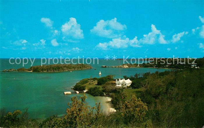 AK / Ansichtskarte Somerset_Sandys Elys Harbour Panorama Somerset Sandys