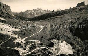AK / Ansichtskarte Dolomiti Strada delle Dolomiti Passo Falzarego Dolomiti