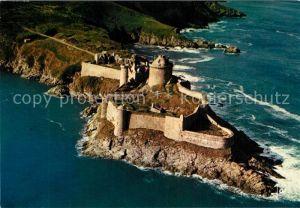 AK / Ansichtskarte Bretagne_Region Fliegeraufnahme Fort La Latte Bretagne Region