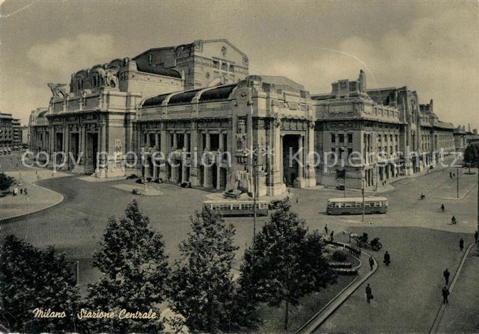 AK / Ansichtskarte Milano Stazione Centrale Milano