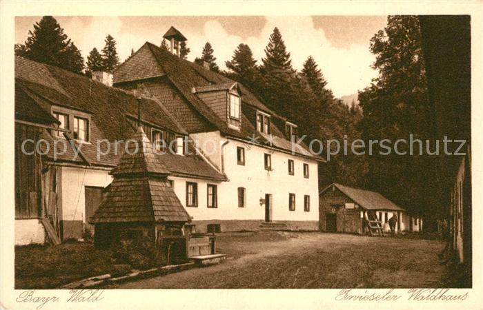AK / Ansichtskarte Zwiesel_Niederbayern Zwieseler Waldhaus Gasthaus Bayerischer Wald Kupfertiefdruck Zwiesel Niederbayern