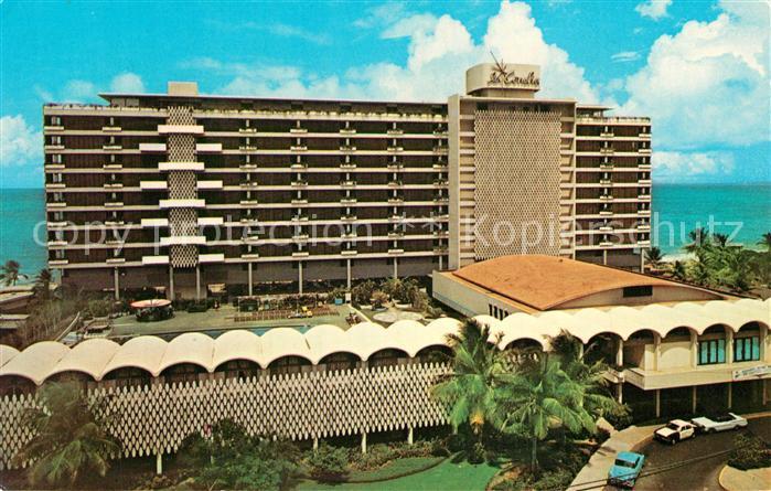AK / Ansichtskarte San_Juan_Puerto_Rico Hotel Beach and Cabana Club San_Juan_Puerto_Rico