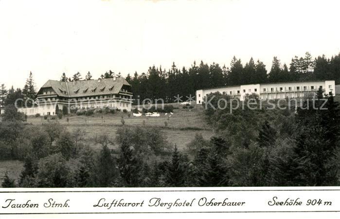AK / Ansichtskarte Tauchen Berghotel Ocherbauer Tauchen