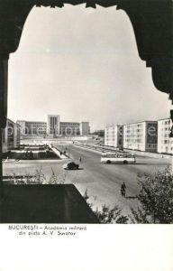 AK / Ansichtskarte Bucuresti Academia militara Bucuresti