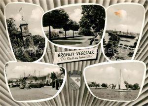 AK / Ansichtskarte Vegesack Bremen Stadt am hohen Ufer Vegesack