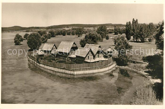 AK / Ansichtskarte Unteruhldingen Freilichtmuseum Pfahldorf der Steinzeit Unteruhldingen