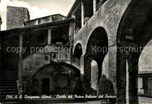 AK / Ansichtskarte Siena Citta di s. Gimignano Siena