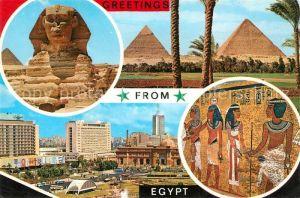 AK / Ansichtskarte Kairo Pyramiden Pharonen  Kairo