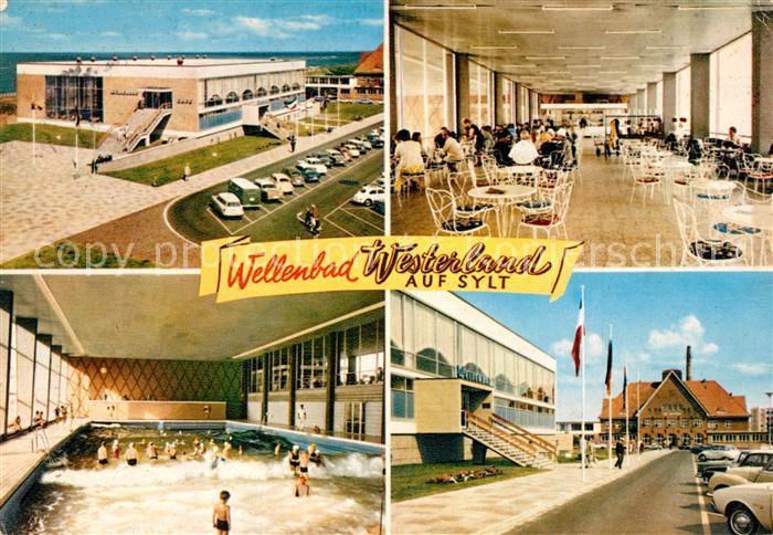 AK / Ansichtskarte Westerland_Sylt Wellenbad Westerland_Sylt