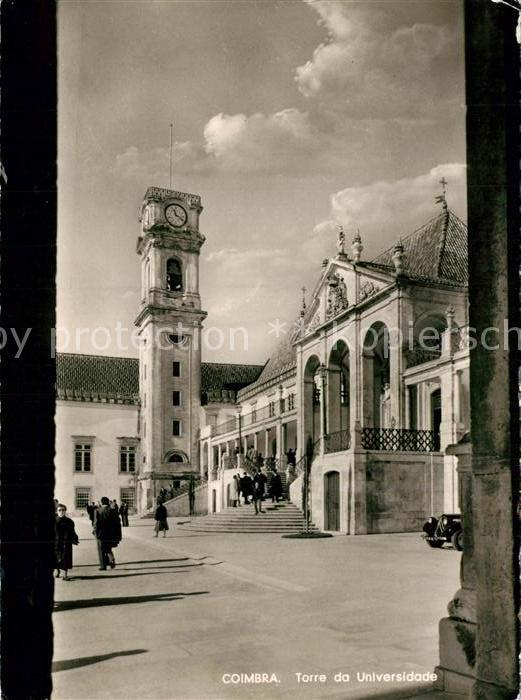AK / Ansichtskarte Coimbra Universitaetsturm Coimbra