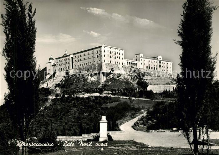 AK / Ansichtskarte Montecassino Lato  Montecassino 0