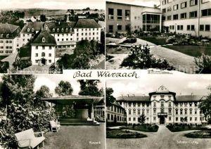 AK / Ansichtskarte Bad_Wurzach Sanatorium Maria Rosengarten Kurhaus  Bad_Wurzach
