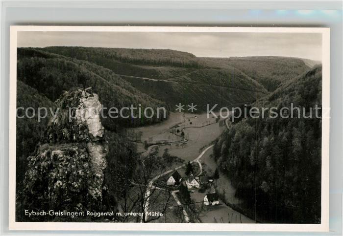AK / Ansichtskarte Eybach_Geislingen_Steige Roggental Muehle  Eybach_Geislingen_Steige