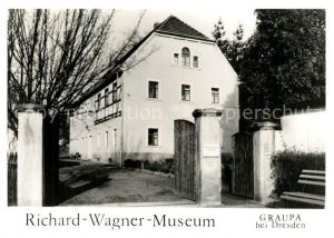 AK / Ansichtskarte Graupa Richard Wagner Museum Graupa