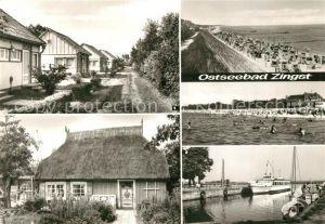 AK / Ansichtskarte Zingst_Ostseebad Urlauberdorf Hafen Zingst_Ostseebad