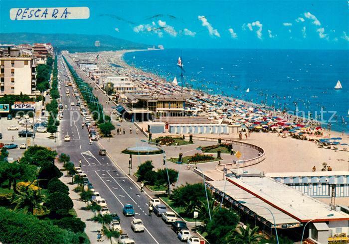 AK / Ansichtskarte Pescara La Riviera Pescara
