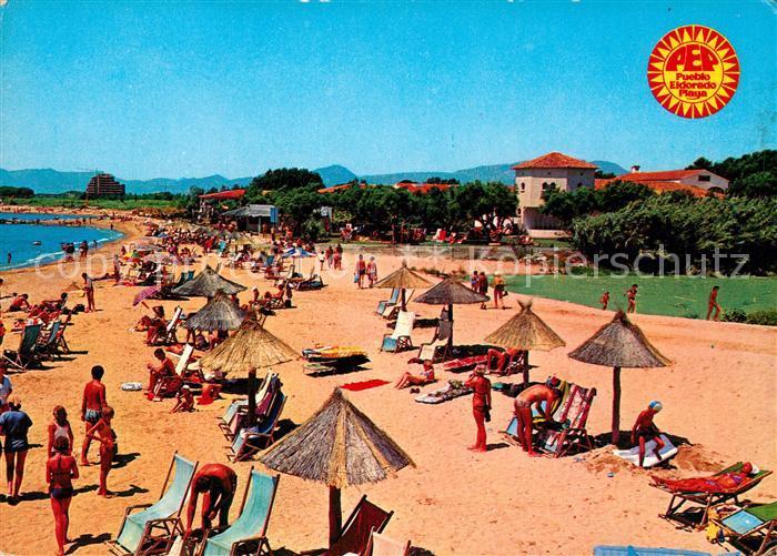 AK / Ansichtskarte Cambrils Pueblo Eldorado Playa Cambrils