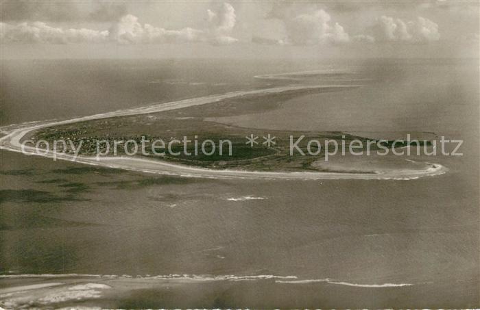 AK / Ansichtskarte Langeoog_Nordseebad Nordseeinsel Fliegeraufnahme aus 1000 m Hoehe Langeoog_Nordseebad
