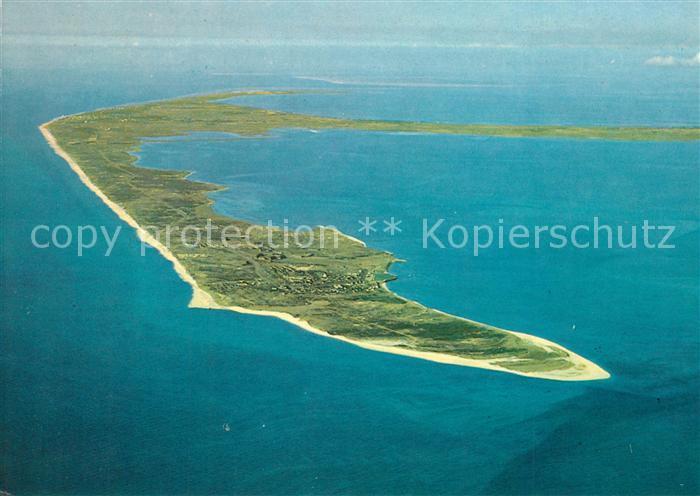 AK / Ansichtskarte Insel_Sylt Nordseeinsel Fliegeraufnahme aus ca. 3000 m Hoehe Insel_Sylt