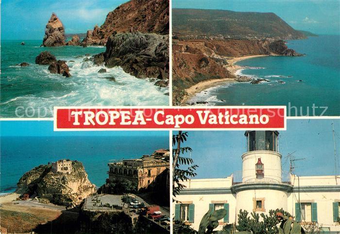 AK / Ansichtskarte Tropea Capo Vaticano Teilansichten Tropea