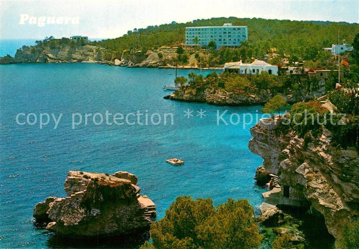 AK / Ansichtskarte Paguera_Mallorca_Islas_Baleares Steilkueste Paguera_Mallorca