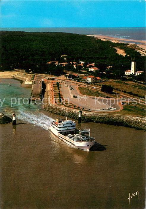 AK / Ansichtskarte Verdon sur Mer_Le Port Bloc Vue aerienne Verdon sur Mer_Le 0