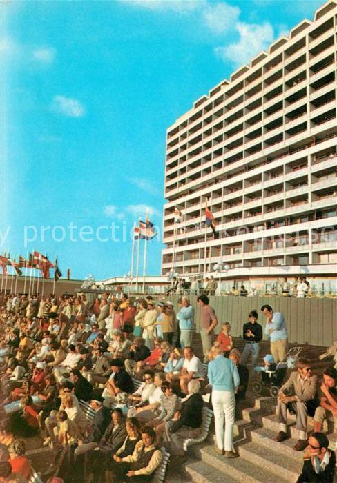 AK / Ansichtskarte Westerland_Sylt Kurzentrum Hotel Westerland_Sylt 0