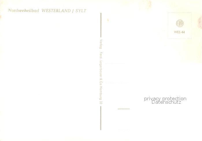 AK / Ansichtskarte Westerland_Sylt Kurzentrum Hotel Westerland_Sylt 1