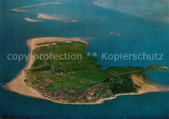 AK / Ansichtskarte Borkum_Nordseebad Nordseeinsel Fliegeraufnahme aus 4000 m Hoehe Borkum_Nordseebad 0