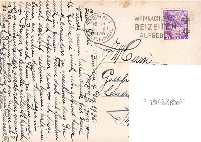 AK / Ansichtskarte Bern_BE Lorrainebruecke Bern_BE 1