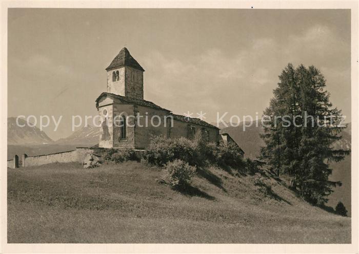 AK / Ansichtskarte Lenzerheide_GR Marienkirche bei Lenz Lenzerheide GR 0