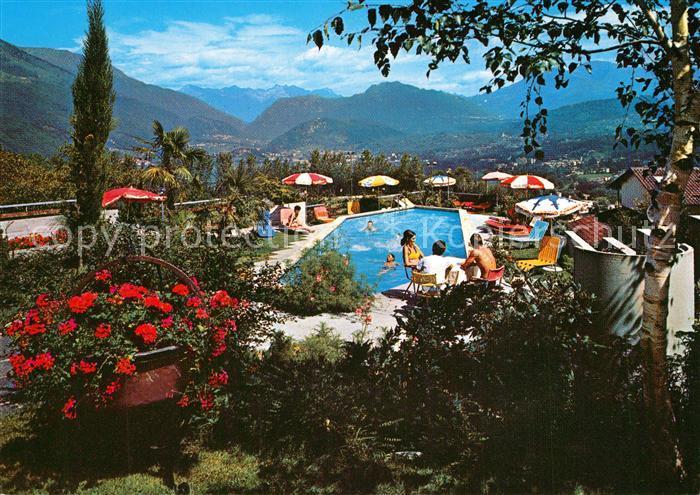 AK / Ansichtskarte Breganzona_Lugano Vita Sanotel Pool Breganzona Lugano 0