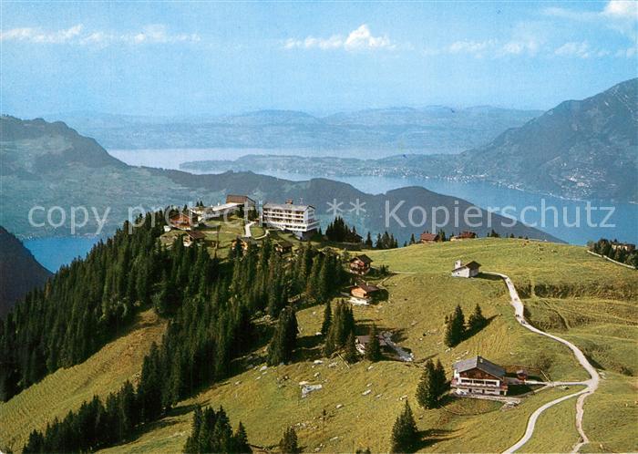 AK / Ansichtskarte Klewenalp Fliegeraufnahme Hotels ob Beckenried Chalet Guggeregg Klewenalp 0