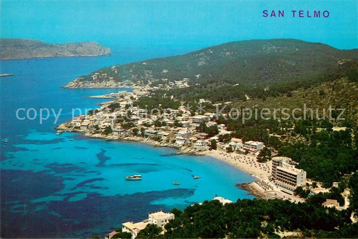 AK / Ansichtskarte San_Telmo Fliegeraufnahme Andraitx  San_Telmo 0