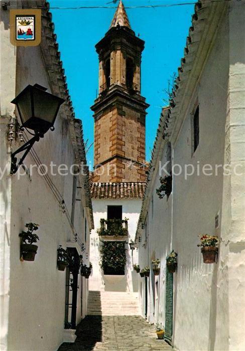AK / Ansichtskarte Estepona Calle tipica Estepona 0