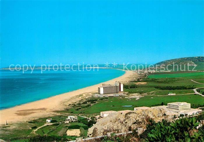 AK / Ansichtskarte Cadiz_Andalucia Fliegeraufnahme Zahara de los Atunes Cadiz Andalucia 0