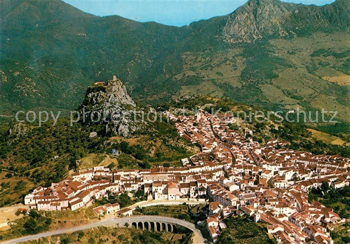 AK / Ansichtskarte Malaga_Andalucia Fliegeraufnahme De Gaucin Malaga_Andalucia 0