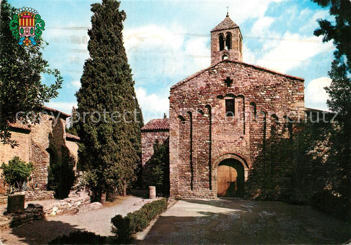 AK / Ansichtskarte Tarrasa Iglesias Romanicas de San Pedro Tarrasa 0