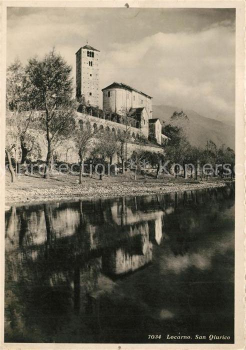 AK / Ansichtskarte Locarno_TI San Qiurico Locarno_TI 0