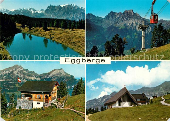 AK / Ansichtskarte Eggberge Restaurant Seeblick Seilbahn Bergsee Eggberge 0
