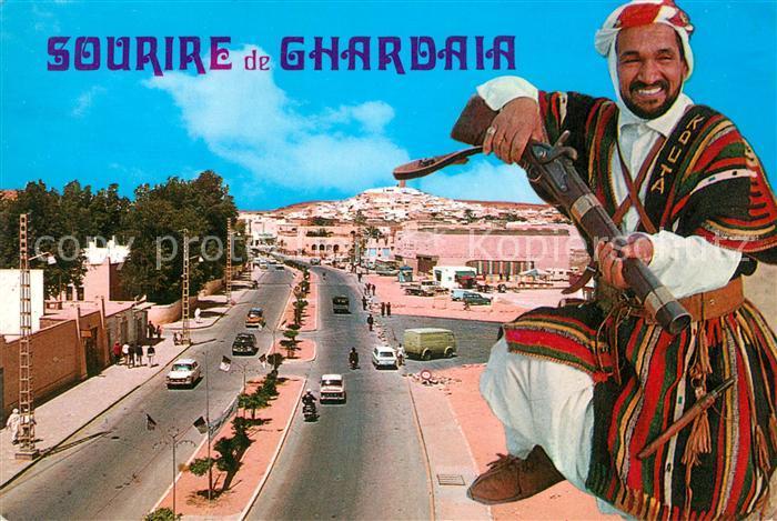 AK / Ansichtskarte Ghardaia Boulevar Emir Abdelkader Ghardaia 0
