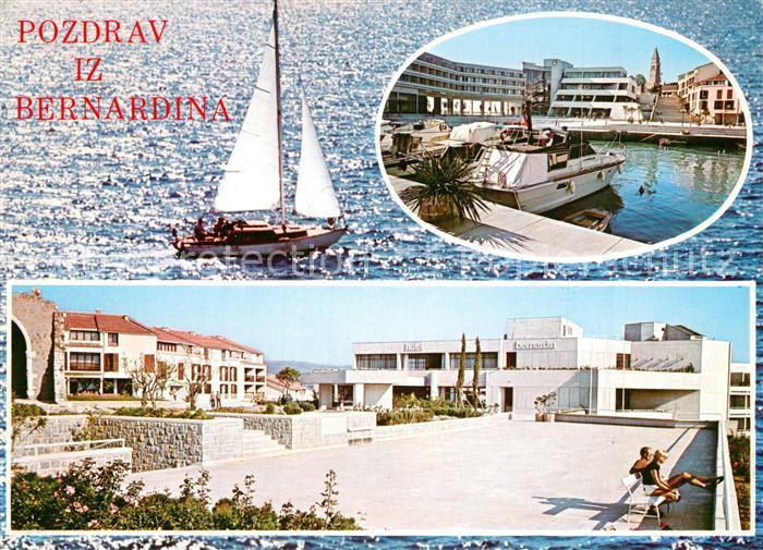 AK / Ansichtskarte Bernardin Hafen  Bernardin