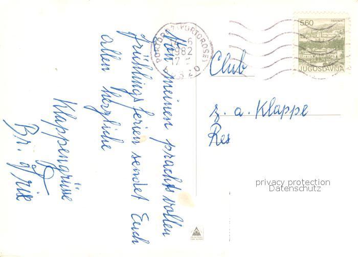 AK / Ansichtskarte Piran Portoroz Strunjan Izols Koper Ankaran Piran 1