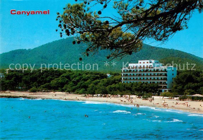 AK / Ansichtskarte Canyamel Strand mit Hotel Canyamel 0