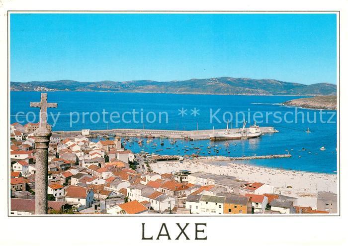 AK / Ansichtskarte Laxe mit Strand  0